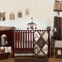 Sweet Jojo Designs Teddy Bear 11-Piece Crib Bedding Set in Chocolate