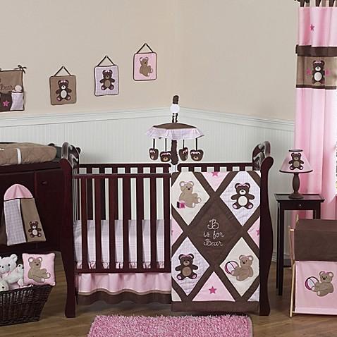 Sweet Jojo Designs Teddy Bear Crib Bedding Collection In