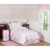 Sweet Jojo Designs Ballerina Twin Bedding Set