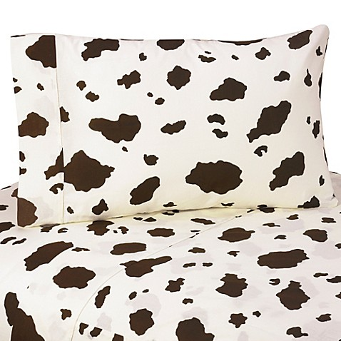 Cow Print Bedding
