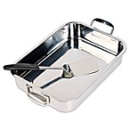 Invitations® 2-Piece Stainless Steel Lasagna Pan Set
