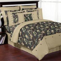 Sweet Jojo Designs Camo 3-Piece Full/Queen Comforter Set