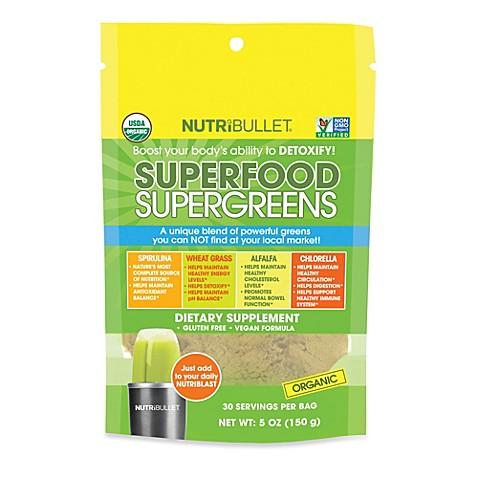 nutribullet® superfood supergreens - bed bath & beyond