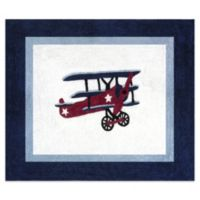 Sweet Jojo Designs Vintage Aviator 36-Inch x 30-Inch Accent Rug