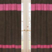 Sweet Jojo Designs Cowgirl Bandana Window Panel Pair
