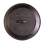 Camp Chef 12-Inch Pre-Seasoned Round Cast Iron Skillet Lid