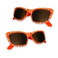 Sunglasses Boca Clips® in Red Dot (Set of 2)