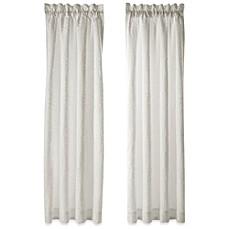 J Queen New YorkTM Chantilly 84 Inch Window Curtain Panel Pair