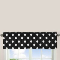 Sweet Jojo Designs Hot Dot Window Valance