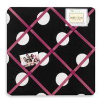Sweet Jojo Designs Hot Dot Fabric Memo Board