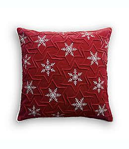 Cojín decorativo cuadrado Bee & Willow™ Home color rojo