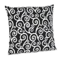 Sweet Jojo Designs Kaylee Decorative Accent Throw Pillow in Scroll Print