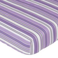 Sweet Jojo Designs Kaylee Fitted Crib Sheet in Stripe Print
