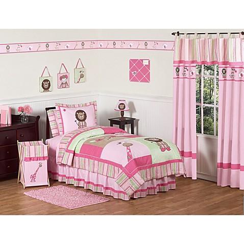 Sweet Jojo Designs Jungle Friends Bedding Collection