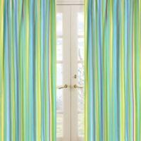 Sweet Jojo Designs Layla Striped Window Panel Pair