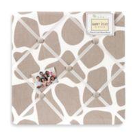 Sweet Jojo Designs Giraffe Fabric Memo Board