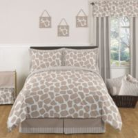 Sweet Jojo Designs Giraffe 3-Piece Full/Queen Bedding Set