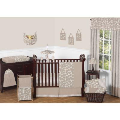 Sweet Jojo Designs Giraffe Crib Bedding Collection 11 Piece