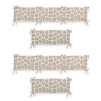Sweet Jojo Designs Giraffe 4-Piece Crib Bumper