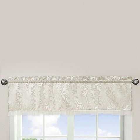 Sweet jojo designs victoria window valance bed bath beyond for Sweet jojo designs bathroom