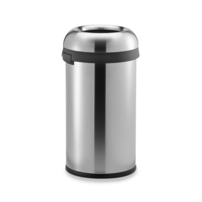 buy stainless steel trash cans simplehuman from bed bath & beyond