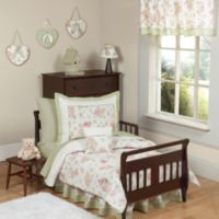 Sweet Jojo Design Riley's Roses 5-Piece Toddler Bedding Set