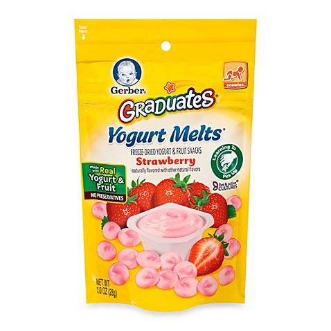 Gerber Graduates Organic Strawberry Yogurt Melts 174 Buybuy