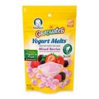 Gerber Graduates Organic Mixed Berry Yogurt Melts®