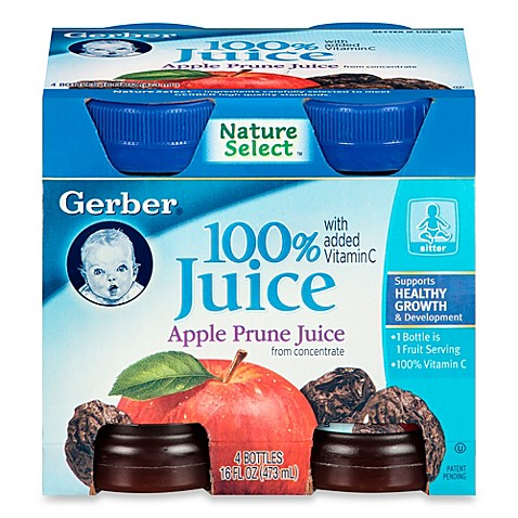 Baby apple prune juice