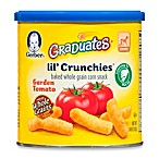 Gerber Graduates Lil' Crunchies 1.48 oz. Garden Tomato Canister