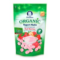Gerber Graduates Organic Red Berries Yogurt Melts®