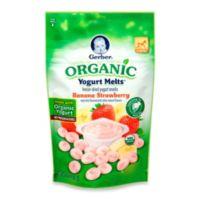 Gerber Graduates Organic Strawberry Banana Yogurt Melts®