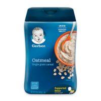 Gerber® 16 oz. Single Grain Oatmeal Cereal