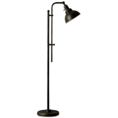 Buy Circles Floor Lamp In Brushed Steel From Bed Bath Amp Beyond