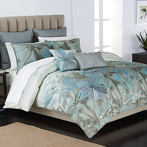 parker loft medocino comforter set bed bath beyond. Black Bedroom Furniture Sets. Home Design Ideas