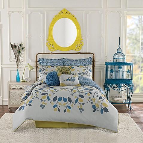 Anthology Bloomsbury Reversible Comforter Set Bed Bath