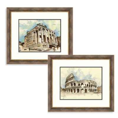 """Ancient Rome"" Framed Art"