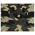 Sweet Jojo Designs Camo Floor Rug in Green