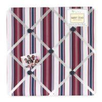 Sweet Jojo Designs Nautical Nights Fabric Memo Board
