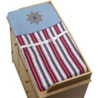Sweet Jojo Designs Nautical Nights Changing Pad Cover