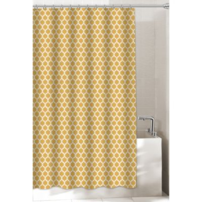 Morocco 54 Inch x 78 Inch Stall Shower CurtainBuy Stall Size Fabric Shower Curtains from Bed Bath   Beyond. Yellow And Teal Shower Curtain. Home Design Ideas