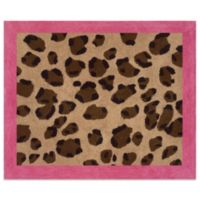 Sweet Jojo Designs Cheetah Girl Floor Rug