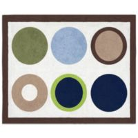 Sweet Jojo Designs Designer Dot Floor Rug