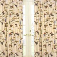 Sweet Jojo Designs Wild West 84-Inch Window Panel Pair Cowboy Print (Set of 2)
