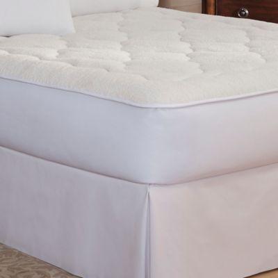 therapedic sherpa reversible king mattress pad