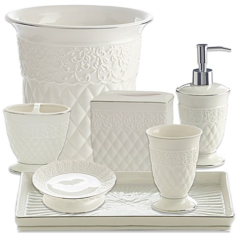 kassatex florentine bathroom accessories bed bath beyond On kassatex bathroom accessories
