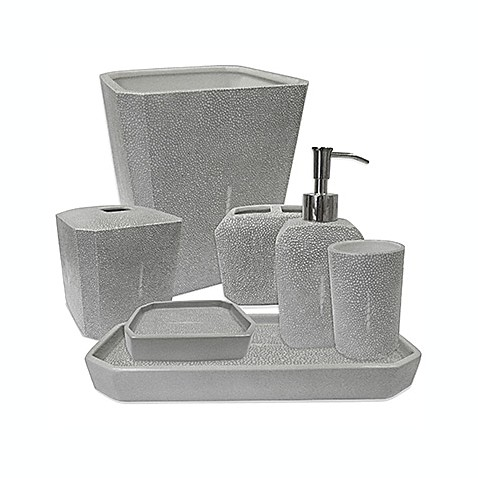 Kassatex Shagreen Bath Accessory Collection Bed Bath Beyond