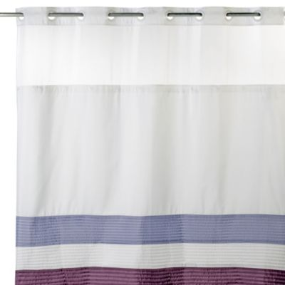 Hookless® 71 Inch X 74 Inch Shower Curtain And Liner In Amethyst