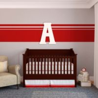"Munch™ Oversized White Painted Letter ""A"""