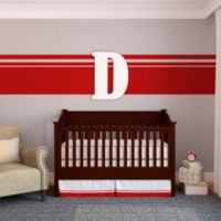 "Munch™ Oversized White Painted Letter ""D"""